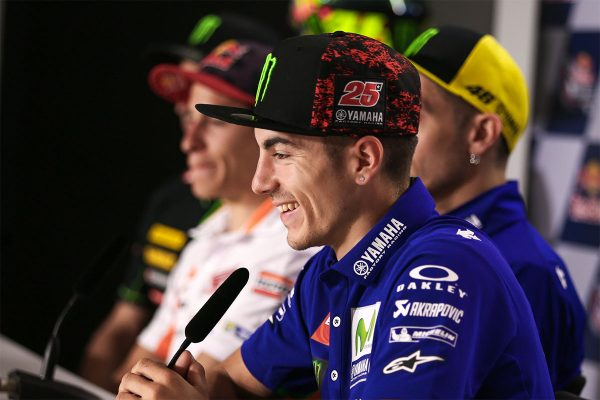 MotoGP stars speak at COTA pre-event press conference