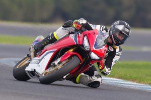 Honda teammates shakedown new CBR1000RR SP2