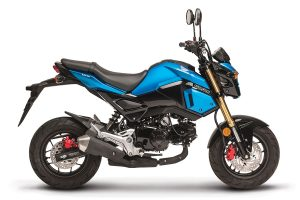 Four new Grom colourways released by Honda