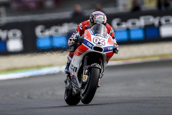 Dovizioso leads MotoGP points into Sachsenring