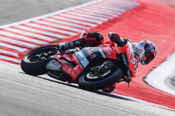 Signs of progress for Jones in Misano STK1000 affair