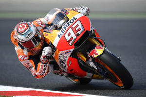 Marquez quickest at the conclusion of day one in Spain