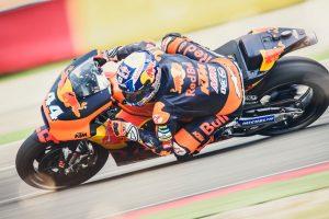 Moto2 regular Oliveira has first taste of MotoGP-spec KTM RC16