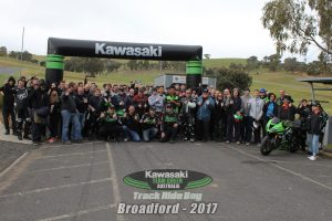 Kawasaki Team Green Australia 2017 Broadford track day