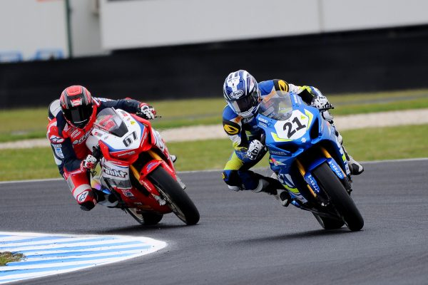 Waters steals race three Superbike victory at Phillip Island