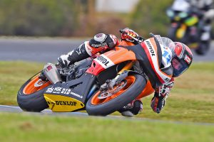 Chiodo victorious for Dunlop in ASBK Supersport at Phillip Island