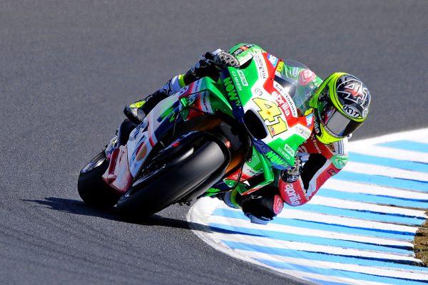 Aprilia's Espargaro fastest in MotoGP on Friday at Phillip Island