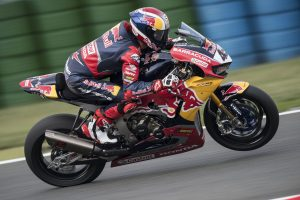 Gagne set for Red Bull Honda return at Qatar's WorldSBK finale