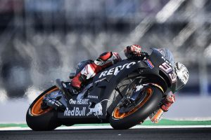 Marquez moves to the top of MotoGP test time-sheets on Wednesday