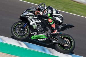 Sykes sets Jerez WorldSBK pace as Kawasaki dominates
