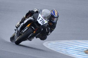 Blair tops charts in wet morning ASBK session