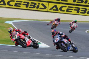 Mandatory pit-stops for WorldSBK and SSP races in Australia