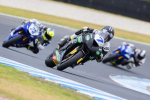 Phillip Island victories for Cube Racing's Toparis and Bayliss