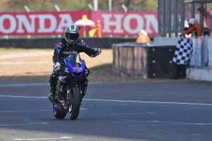 West stars at opening round of ARRC in Thailand