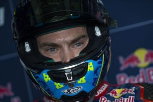 Camier recovering from race one incident at Aragon