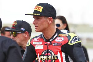 Herfoss outlines importance of The Bend tyre management