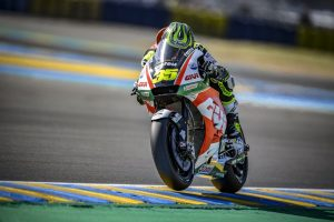 Last-minute medical clearance results in eighth for Crutchlow