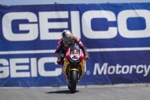 Career-best finish for Gagne at Laguna Seca WorldSBK