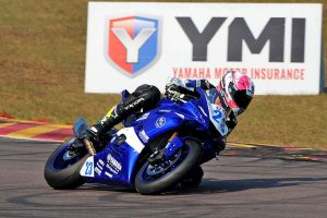 Halliday sets Friday Supersport pace at Hidden Valley