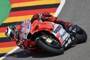 Lorenzo leads the way on Friday at German MotoGP