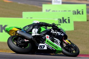 Kawasaki BCperformance's Staring earns ASBK rostrum in the Top End