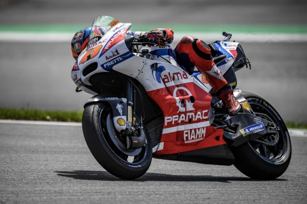 Excessive front tyre temperature results in top 20 for Miller