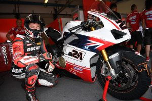 Bayliss' WDW Panigale V4 S auctions for record-breaking bid