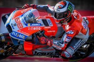 Lorenzo secures pole in Ducati 1-2 at Aragon MotoGP