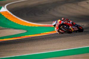 Marquez fastest in Aragon MotoGP practice