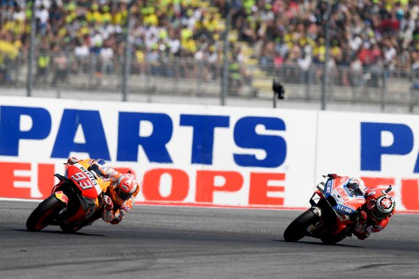 Marquez acknowledges charge of the Ducatis ahead of Aragon