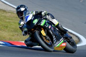 Dual ASBK class podiums for Cube Racing at Winton