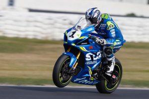 Team Suzuki ECSTAR Australia back in the battle