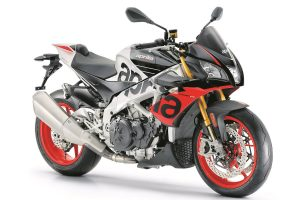 Upgraded technology for 2019 Aprilia Tuono V4 1100 Factory