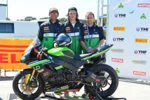 Inspiring end to ASBK season for Cube Racing at The Island