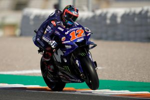 Vinales tops the timesheets on day two in Valencia