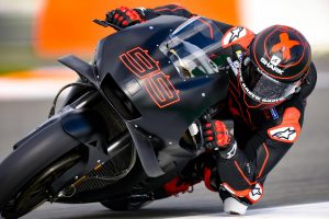 Lorenzo completes initial laps aboard RC213V in Repsol Honda debut