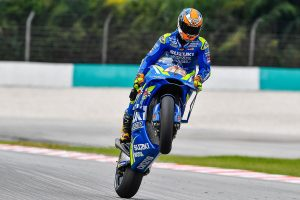 Suzuki's Rins fastest on Friday as Miller shines at Sepang