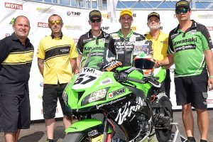 Kawasaki BCperformance Racing team ready for 2019 ASBK