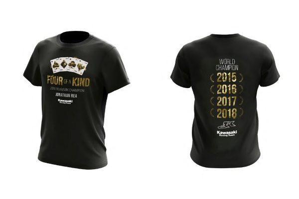 Product: 2019 Kawasaki Jonathan Rea limited edition t-shirt