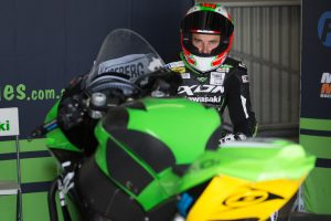 Staring inspired by Dunlop test aboard 2019 Kawasaki ZX-10RR