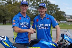 Team Suzuki ECSTAR Australia solidify partnerships for 2019