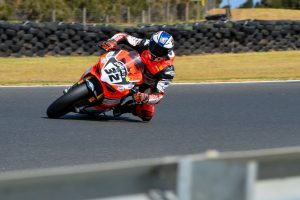 Bayliss sets pace in Phillip Island ASBK practice