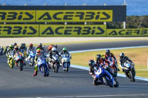Toparis makes it two from two Supersport wins at the Island
