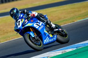 Phillip Island ASBK test finishes with Maxwell on top