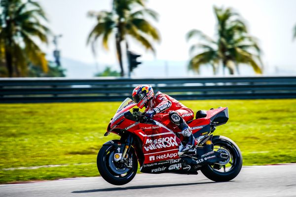 Strong Ducati presence proof of solid platform says Dovizioso