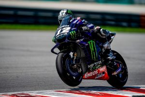 Blistering time grants Vinales P1 on day two of Sepang test