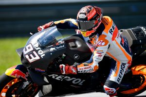 Physical condition improving according to Marquez