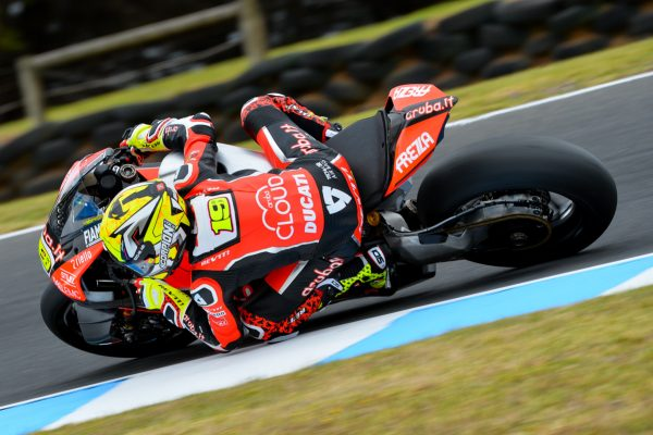 Bautista tops WorldSBK testing on day one at Phillip Island
