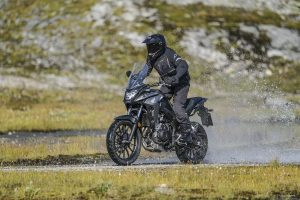 More adventure with the New CB500X