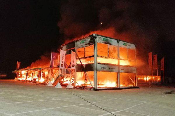 MotoE season delayed following catastrophic fire at Jerez test